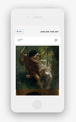 link artist template mobile